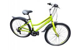 Велосипед BLACK AQUA CITY 2671 V 26 2018 GL-B320V (лаймовый)