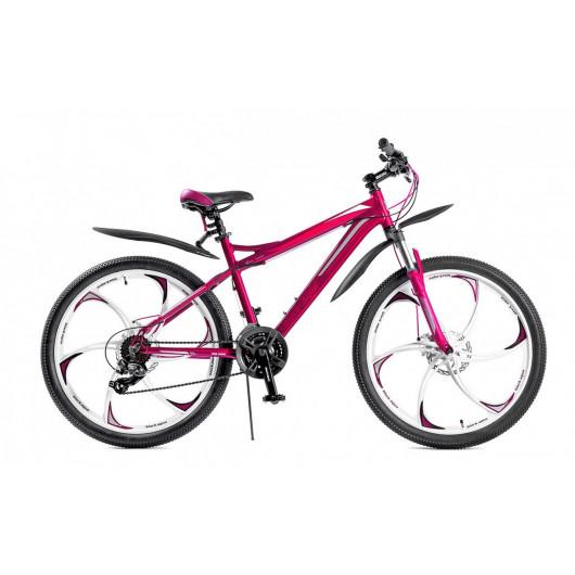 Горный велосипед black aqua lady 2681 d 26 2018 gl-b326d (фиолетовый)