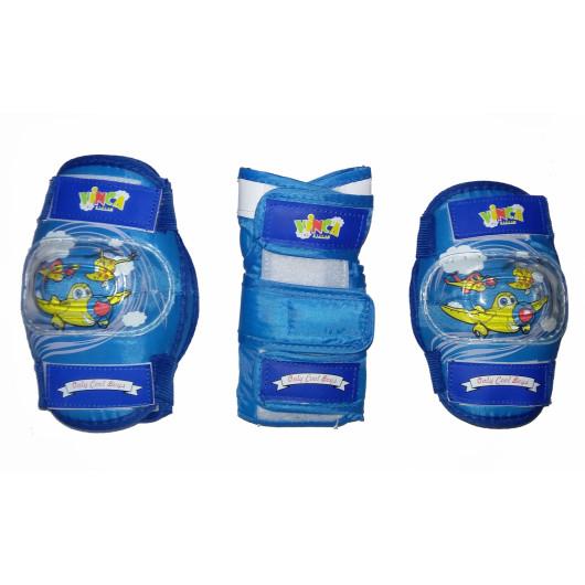 Защита детская комплект, синий, размер S, VP 32