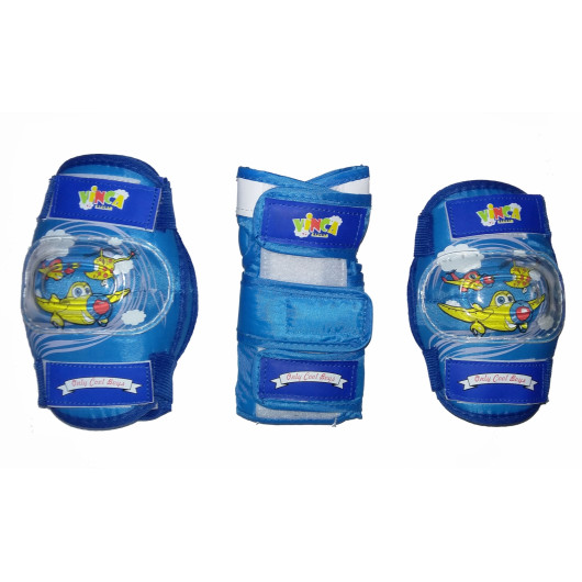 Защита детская комплект, синий, размер M, VP 32
