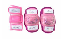 Защита детская комплект, розовый, размер M, VP 32