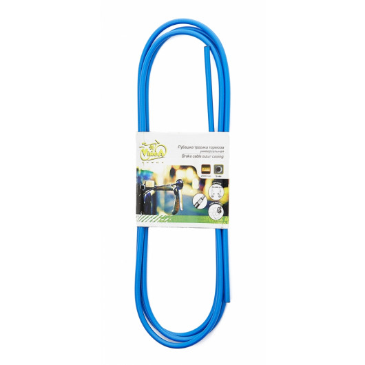 Оплетка тросика тормоза, диаметр - 5мм, длина - 2м, VSC 2 blue