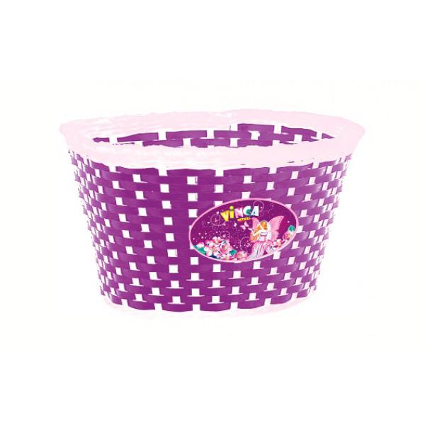 Корзина детская на руль P04 фиолетовая Камилла