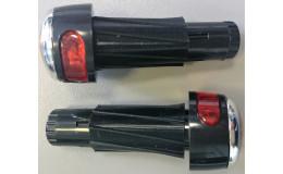 Заглушки светодиодные в ручку руля (пара) VL-6005