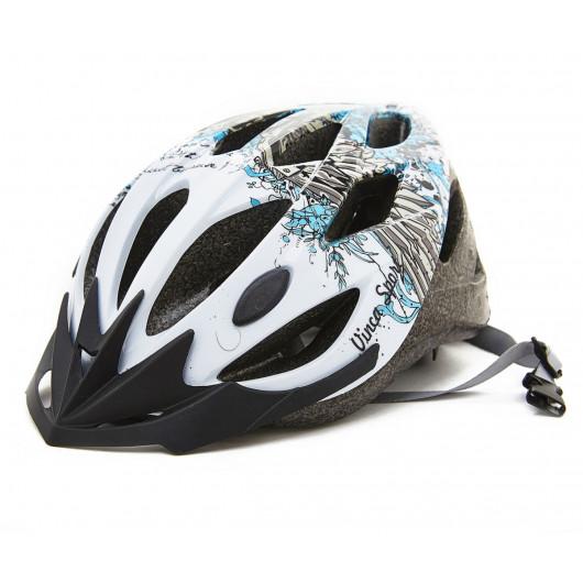 Шлем подростковый, белый, VSH 13 wings (L)