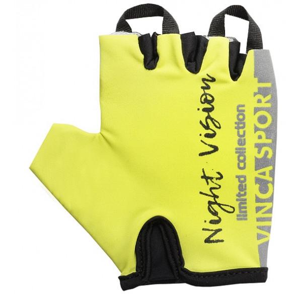 Перчатки велосипедные детские Night Vision kids, VG 965, цвет неоновый, размер 6XS