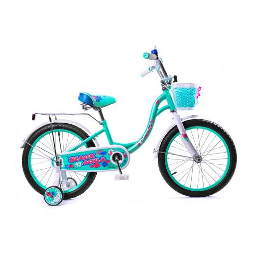 Детский велосипед 14' ва сamilla kg1417 бирюзовый