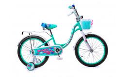 Велосипед 18' ВА Сamilla KG1817 бирюзовый
