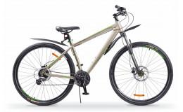 Велосипед 29' BA Cross 2992 HD matt рама 21'' серо-зеленый GL-505HD
