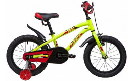 Велосипед 16' NOVATRACK PRIME салатовый