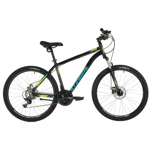Горный велосипед 27,5' stinger element evo рама 18', черный