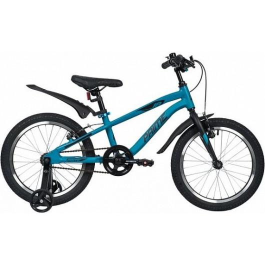 Детский велосипед 18' novatrack prime синий