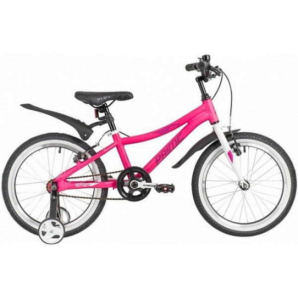 Детский велосипед 18' novatrack prime розовый