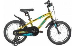Велосипед 20' NOVATRACK PRIME золотой металлик