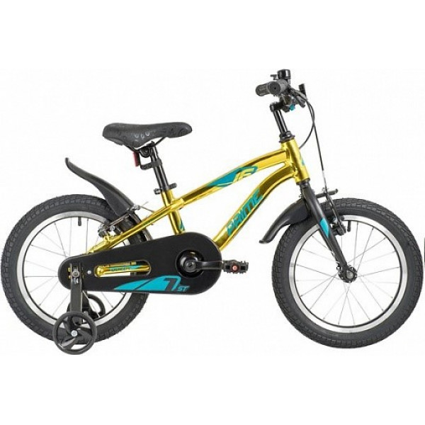 Детский велосипед 20' novatrack prime золотой металлик