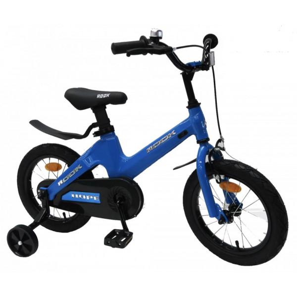 Детский велосипед 14' rook hope, синий kmh140bu