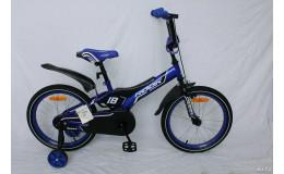 Велосипед 18' Rook Motard, синий, KSM180BU