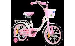 Велосипед 18' Nameless Lady белый /розовый
