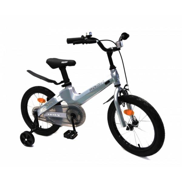 Детский велосипед 14' rook hope, серебристый kmh140sr