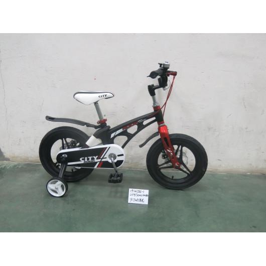 Детский велосипед 16' rook city, чёрный kmh160bk