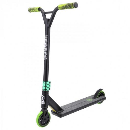Самокат LEIDART 500 чёрный/зелёный