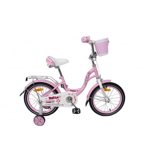 Детский велосипед 14' rook belle, розовый ksb140pk