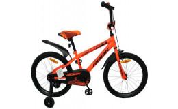 Детский велосипед 14' rook sprint, оранжевый kss140og