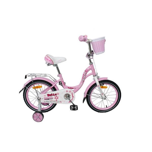 Детский велосипед 16' rook belle, розовый ksb160pk