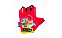 Перчатки велосипедные детские, PRINCESS, VG 937, розовые, размер 7XS
