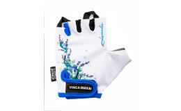 Перчатки велосипедные детские, Lavender, VG 938, белые, 6XS