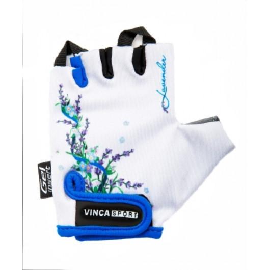 Перчатки велосипедные детские, Lavender, VG 938, белые, 7XS