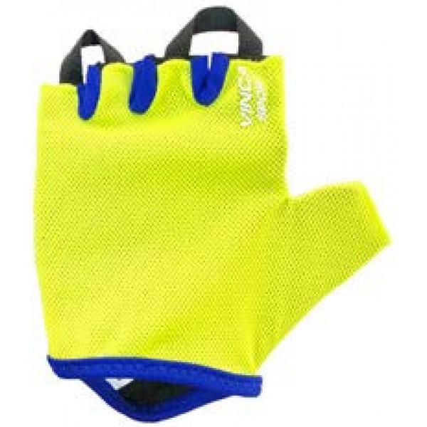 Перчатки велосипедные детские, VG 978, цвет лайм, размер 4XS