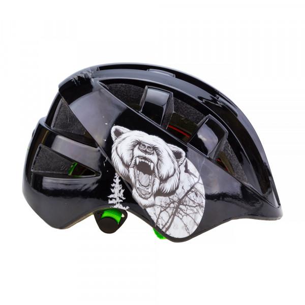 Шлем детский IN-MOLD с регулировкой арт. VSH 8 bear (Nothern Hunter) M