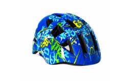 Шлем детский IN-MOLD с регулировкой арт. VSH 8 letters M
