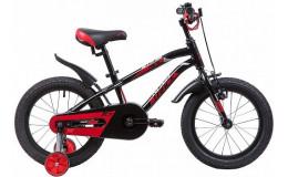 Велосипед 16' NOVATRACK PRIME чёрный