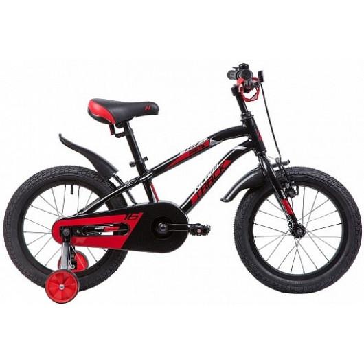 Детский велосипед 16' novatrack prime чёрный