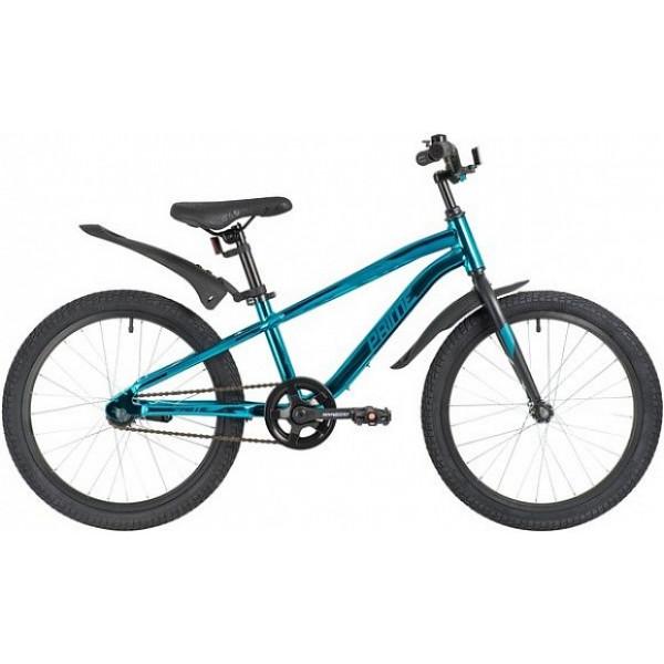 Детский велосипед 16' novatrack prime синий металлик