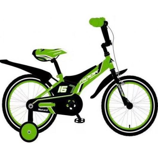 Детский велосипед 16' rook motard, зелёный, ksm160gn