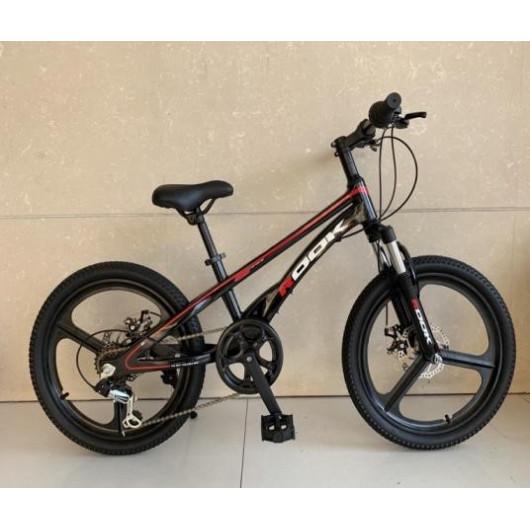 Подростковый велосипед 20' rook md-220, черный md-220bk