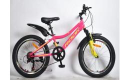 Велосипед 20' Rook MS200W, розовый/зеленый MS200W-PK/GN