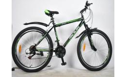 Горный велосипед 26' rook ms261, черный/зеленый ms261-bk/gn