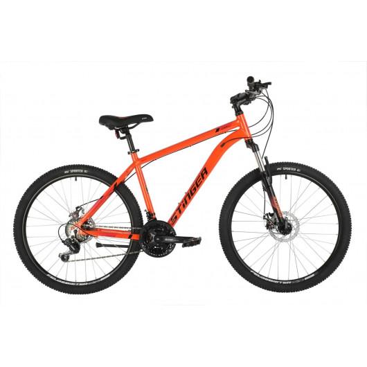 Горный велосипед 26' stinger element evo рама 16', оранжевый