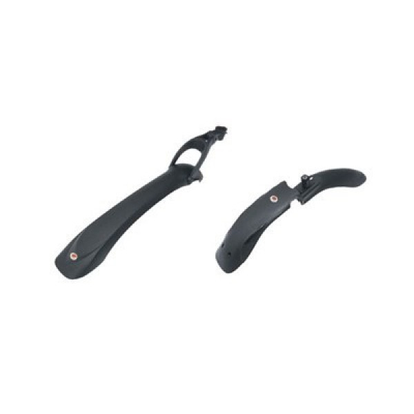 Крылья-комлект Hammer SDE с амортизаторами 24'-28' чёрные
